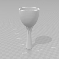 Small Wine Aerator 3D Printing 208744