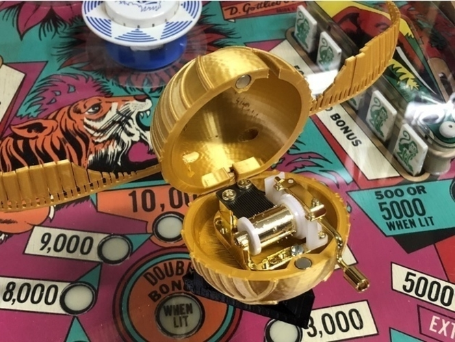 Harry Potter Golden Snitch music box remix 3D Print 208847
