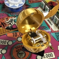 Small Harry Potter Golden Snitch music box remix 3D Printing 208847