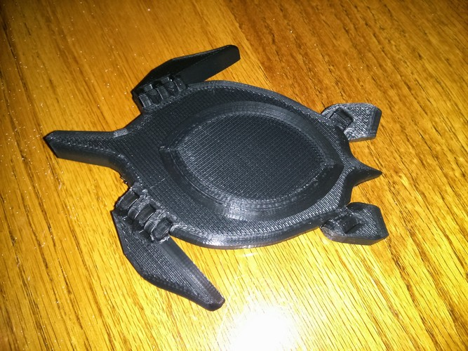 Sea Turtle with moving flippers! 3D Print 20886