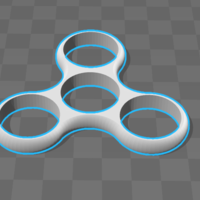 Small Spinner 3D Printing 208889