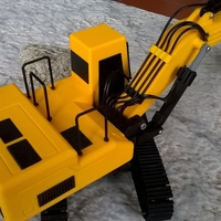 Small full track excavator 3D Printing 208905