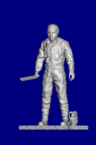 JASON FRIDAY THE 13 3D Print 208936