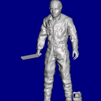 Small JASON FRIDAY THE 13 3D Printing 208936