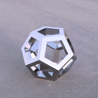 Small hollowed DODECAHEDRON 3D Printing 208956