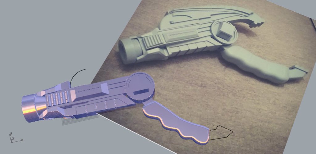 POWER RANGERS blaster 2 positions 3D print model 3D Print 208966
