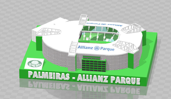 Medium Palmeiras - Allianz Parque 3D Printing 209007