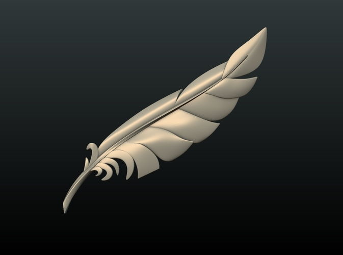 Feather 3D Print 209082