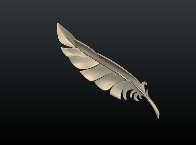 Feather 3D Print 209083