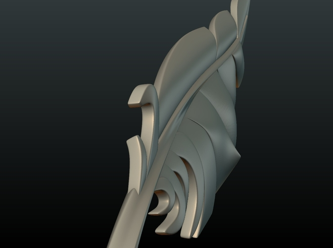 Feather 3D Print 209088