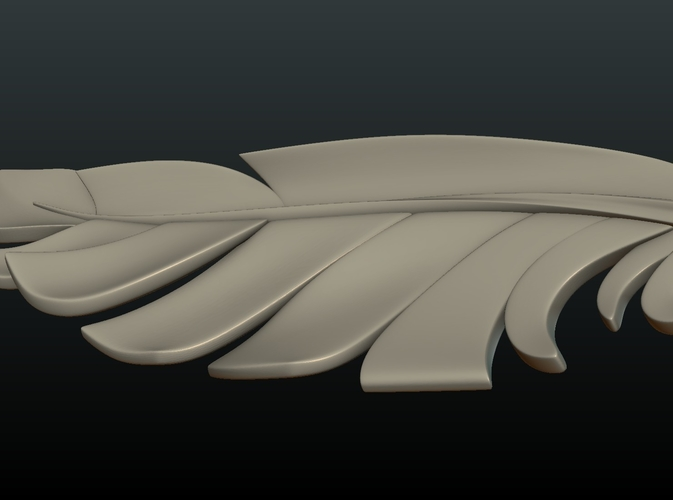 Feather 3D Print 209090