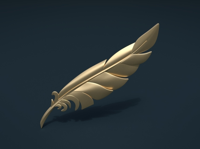Feather 3D Print 209098