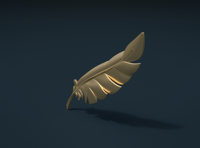 Feather 3D Print 209099