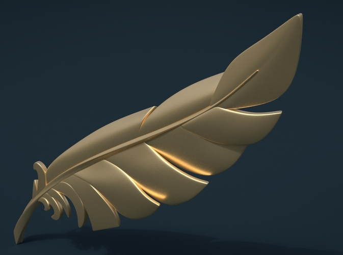 Feather 3D Print 209101