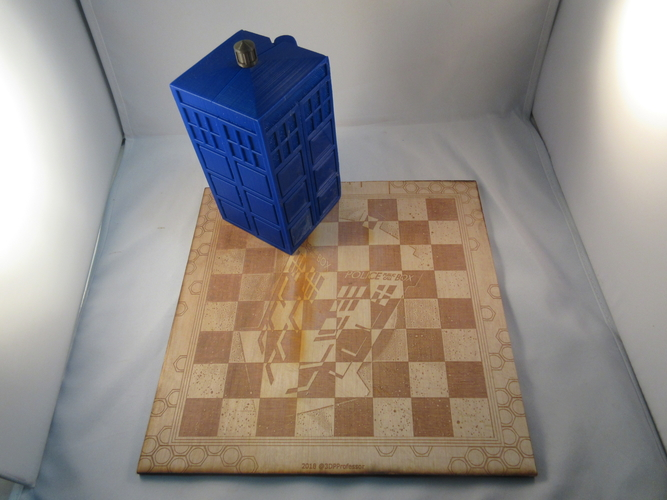 Doctor Who Chess Set Play Set 3D Print 209240