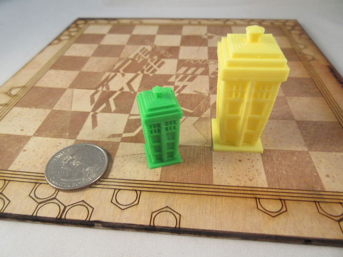 Doctor Who Chess Set Play Set 3D Print 209243