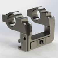 Small Kar98k ZF-41 scope mount 3D Printing 209328