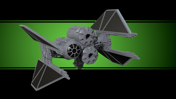 Medium TIE Breacher - X-wing miniatures compatible 3D Printing 209483