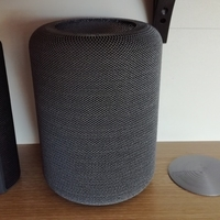 "Small Portable speaker enclosure type ""HomePod"" 3D Printing 209547"