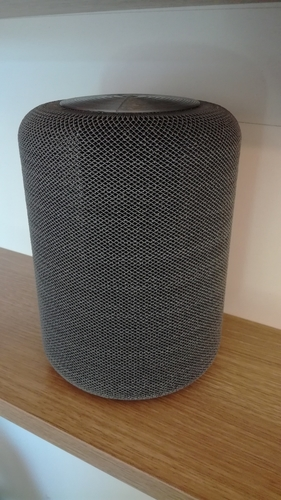 "Portable speaker enclosure type ""HomePod"" 3D Print 209549"