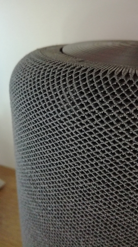 "Portable speaker enclosure type ""HomePod"" 3D Print 209552"