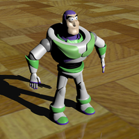 Small Buzz Lightyear - Toy Story 3D Printing 209707