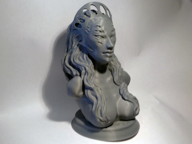 Bust of The Stalk from Saga 3D Print 209939