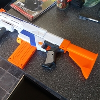 Small Nerf stock M4 style 3D Printing 210021