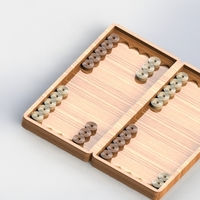 Small backgammon 3D Printing 210230