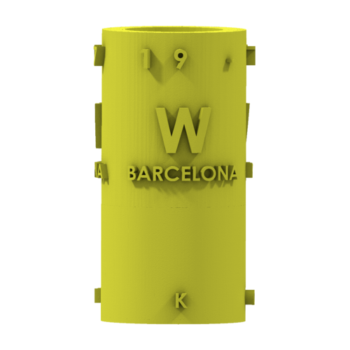THE       W  BARCELONA CITY GIFT 3D Print 210389