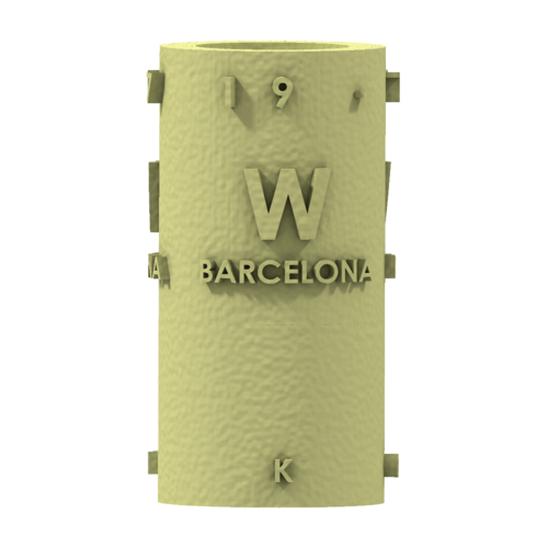 THE       W  BARCELONA CITY GIFT 3D Print 210390