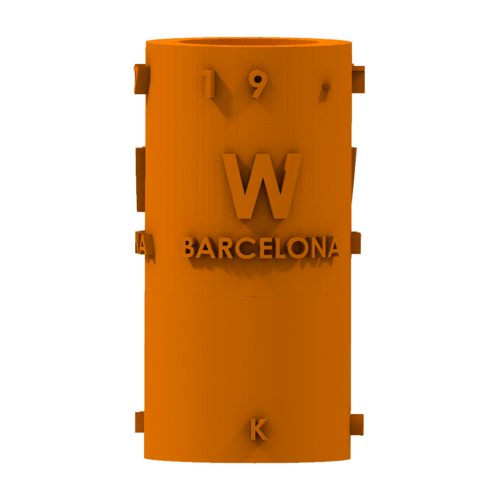 THE       W  BARCELONA CITY GIFT 3D Print 210391