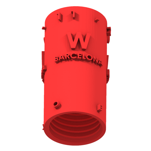 THE       W  BARCELONA CITY GIFT 3D Print 210394