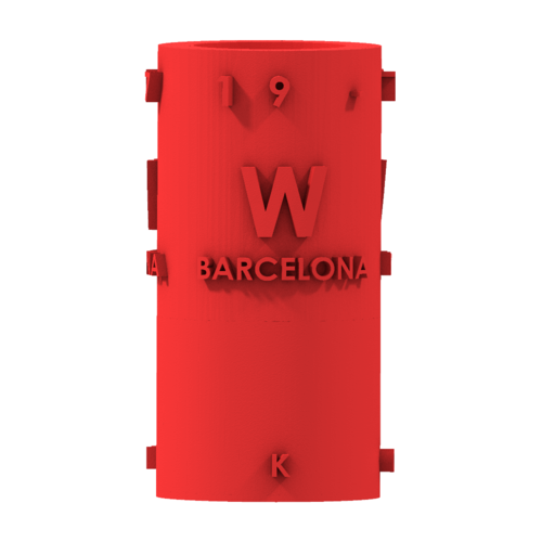 THE       W  BARCELONA CITY GIFT 3D Print 210395