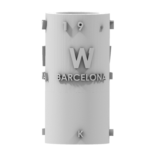 THE       W  BARCELONA CITY GIFT 3D Print 210396