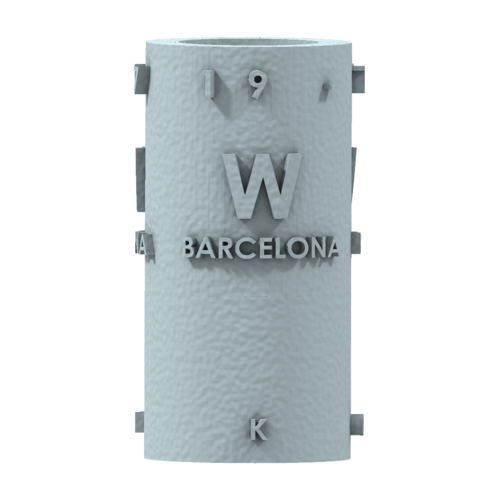 THE       W  BARCELONA CITY GIFT 3D Print 210398