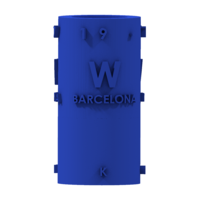 Small THE       W  BARCELONA CITY GIFT 3D Printing 210399