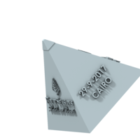 Small CAIRO  CITY GIFT CAP   3D Printing 210422