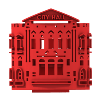Small CITY GIFT CAP -  CITY HALL CAPE TOWN 3D Printing 210466