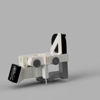 Small Sparkcube X-Carriage  3D Printing 210714