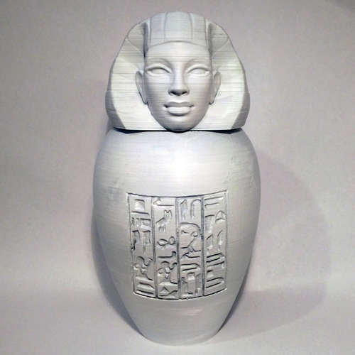 Ancient Egyptian Canopic Jar: Imsety 3D Print 210765