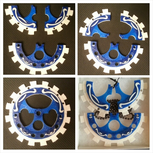 GearBox Clutch & Jewelry Set 3D Print 21082
