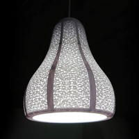 Small Lamp Shade with Visible Gyroid Infill 3D Printing 210888