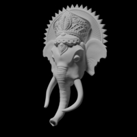 Small Ganesh remixed 3D Printing 210898