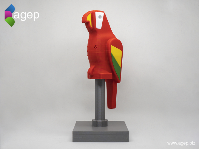 Human Scale Working LEGO Parrot 3D Print 210971