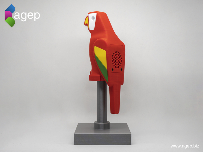 Human Scale Working LEGO Parrot 3D Print 210972