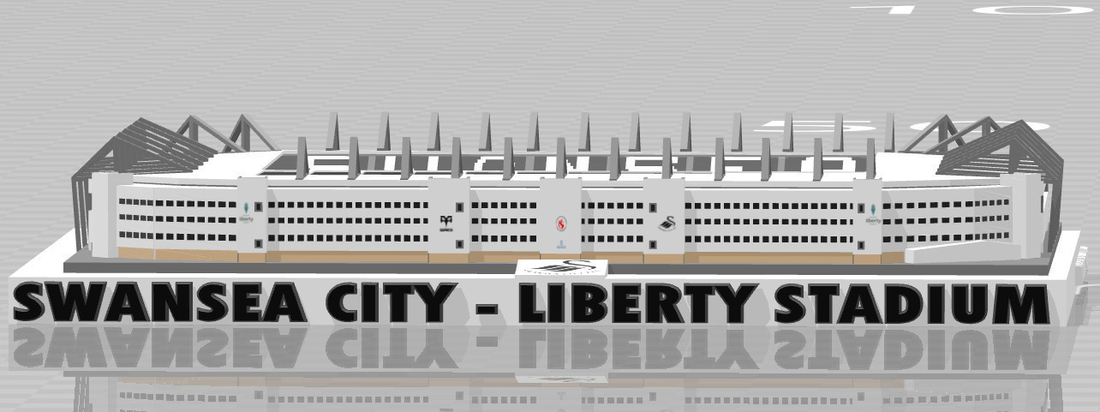 Swansea City - Liberty Stadium 3D Print 211051