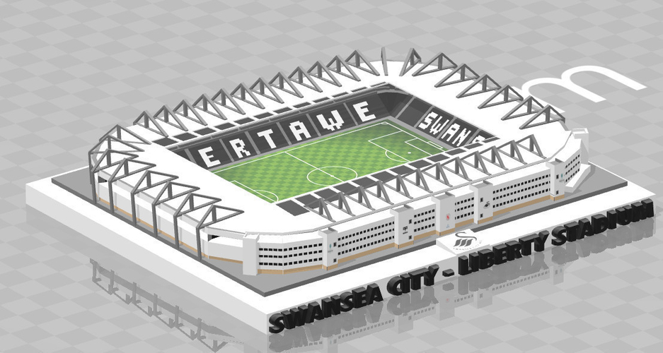 Swansea City - Liberty Stadium 3D Print 211052
