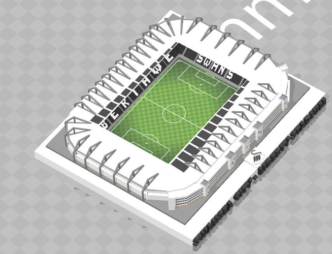 Swansea City - Liberty Stadium 3D Print 211053