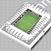 Small Swansea City - Liberty Stadium 3D Printing 211053